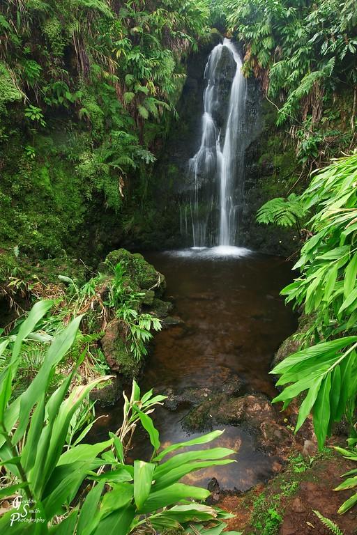 Hawaii Big Island Waterfall