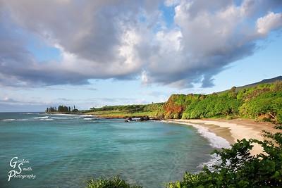 Hamoa Bay and Beach