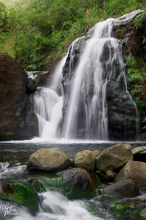 Guardian Falls on the Wailua River