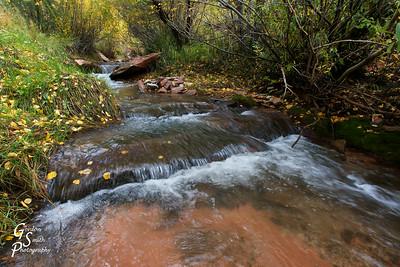 Kanarra Creek Cascades