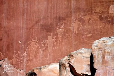 Petroglyph Figures