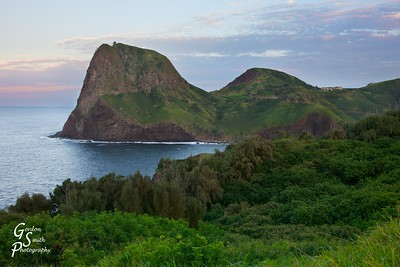 Kahakuloa Head at Sunset