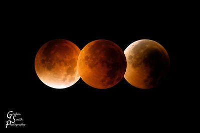 Lunar Eclipse - 3 Views